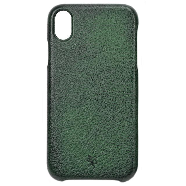 Pratesi Cover iPhone XR B077 Perfect Size - Cover iPhone XR B077 Verde Scuro